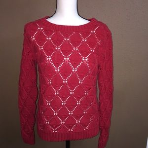 Tommy Hilfiger Red Sweater